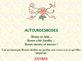 Jardin de roses Autour Des Roses