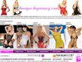Vente lingerie fine feminine pas cher