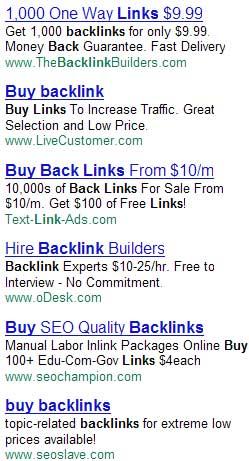 achat de backlinks