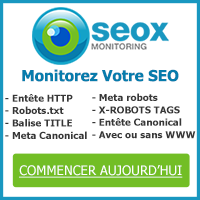 Outil de r�f�rencement Oseox Monitoring