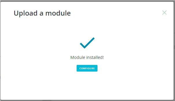 installer un plugin prestashop